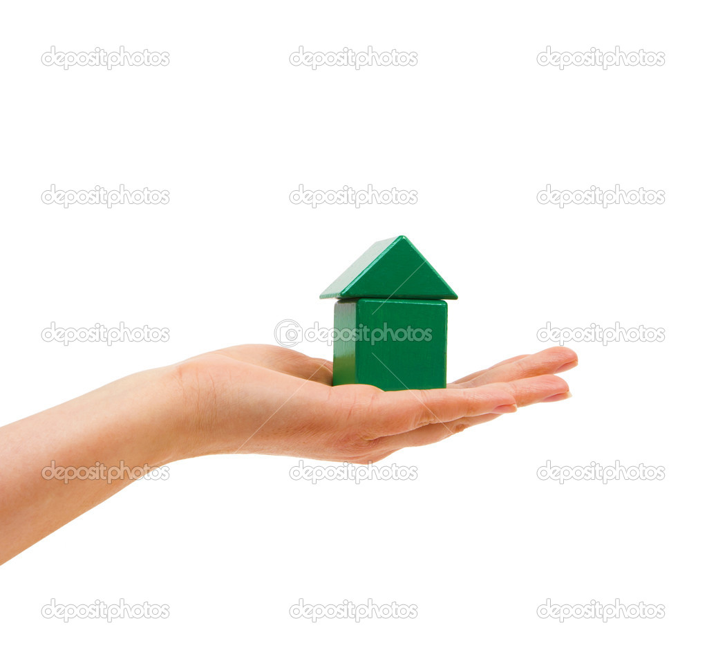 He hands the woman&#039;s hand in a green house.  Stock Photo #10627803