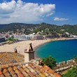Cityscape view of Tossa de Mar, Costa Brava, Spain. More in my g - Stock Photo