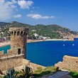 Cityscape of Tossa de Mar, Costa Brava, Spain. — Stock Photo
