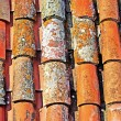 Abstract old roofing tile as background or backdrop. Tossa de Ma — Foto de Stock