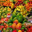 Fruits. World famous Barcelonmarket, Spain. Selective focus. — Stock Photo #7992139