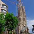 Sagrada Familia gothic temple building. Barcelona, Spain.2009. — Stock Photo #7992580
