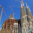 Sagrada Familia gothic temple building. Barcelona, Spain.2009. — Stock Photo #7992583