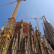 Sagrada Familia gothic temple building. Barcelona, Spain.2009. — Stock Photo #7992872