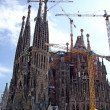 Sagrada Familia gothic temple building. Barcelona, Spain.2009. — Stock Photo #7992875