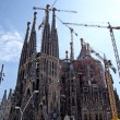 Sagrada Familia gothic temple building. Barcelona, Spain.2009. — Stock Photo #7992876