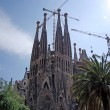 Sagrada Familia gothic temple building. Barcelona, Spain.2009. — Stock Photo #7992879