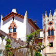 Church with beautiful architecture and ornament. Lloret de Mar, — ストック写真 #7992920