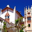 Church with beautiful architecture and ornament. Lloret de Mar, — 图库照片 #7992920