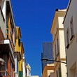 Typical cityscape of Lloret de Mar. CostBrava, Spain. — Stock Photo #7992952
