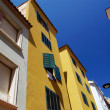 Bright architecture of small Lloret de Mar city. Costa Brava, Sp — Stock Photo
