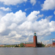 Stockholm city hall, Sweden, Europe. - Foto Stock