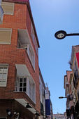 Lloret de mar street. Costa Brava, Spain. — Stock Photo