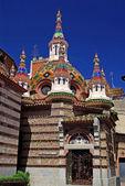 Parish Church of Sant Roma. Lloret de Mar, Costa Brava, Spain. — Stock Photo