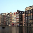 Old historic houses in Amsterdam, Netherlands, Europe. — Stock Photo #8108337