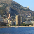 Cityscape of principality of Monaco before sunset, Europe. — Stock Photo