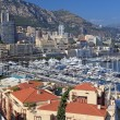 Cityscape of the principality Monaco, french riviera, Europe. — Stock Photo