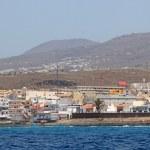 Panoramic view of Tenerife island from atlantic ocean. — Stock Photo #8108662