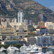 Cityscape view of Monaco principality, Europe. — Stock Photo
