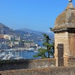 Cityscape view of Monaco principality from old tower high point. — Stock Photo #8109472