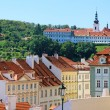 Stock Photo: Cityscape of historical Prague center, eastern Europe.