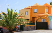 Luxury spanish villa building, Tenerife Island, Canary. — Stock Photo