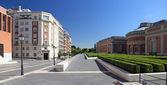 The modern building of Prado museum in Madrid, Spain. — Stock Photo
