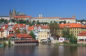 Beautiful cityscape of old Prague, Czech Republic. — Stock Photo