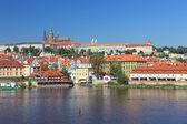 Beautiful cityscape of old Prague, capital of Czech Republic. — Stock Photo