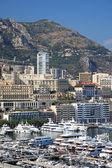 Cityscape view of Monaco principality, Europe. — Stock Photo