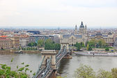 Cityscape of Budapest, capital of Hungary. — Foto de Stock
