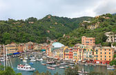 World famous Portofino village, Italy. — Foto de Stock