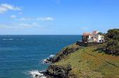 地中海風のヴィラでフランスの村サープラウ、cer としても知られています。 — ストック写真