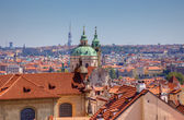Old town view in Prague, Czech. — Stock Photo