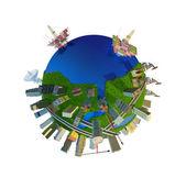 Modelo del globo — Foto de Stock