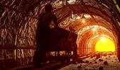 La mine. — Photo