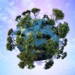 o globo — Foto Stock