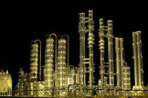 The plant at night. — Stock Photo