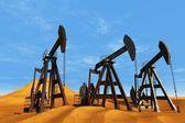 техника для нефти — Стоковое фото
