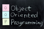 OOP, Object Oriented Programming — Stock Photo