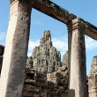 Bayon temple, Angkor, Cambodia — Stock Photo #8088333