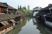 China traditional style building in Wuzhen town — Stock Photo
