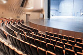 Modern theatre interior — Stock Photo