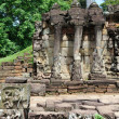 Terrace of Elephants, Angkor Thom, Cambodia — Stock Photo #8102365