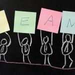Concept of team — Stock Photo