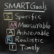 SMART Goals — Stock Photo #9428114