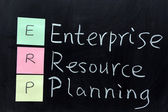 ERP, Enterprise Resource Planning — Stock Photo