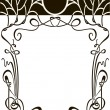 Royalty-Free Stock Vektorgrafik: Art nouveau frame