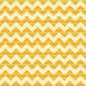 Seamless yellow chevron pattern. — Stock Vector