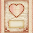 Stock Photo: Valentine day Love Cards, Vintage Love Notes, Note Cards